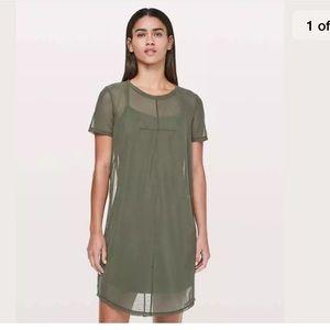 Lululemon Ready to Reach Dress in Camo size 10